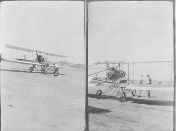 Lincoln Beachy's Curtiss Model D Headless Biplane - Chicago, IL