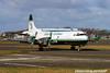 G-FIJV. Lockheed L-188C(F) Electra. Atlantic Airlines. Prestwick. 250204.