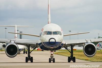 G-BPEE. Boeing 757-236. British Airways. Manchester. 170704.