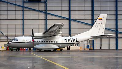 AN-202. Airtech CN-235-100M. Ecuador Navy. Prestwick. 011114.