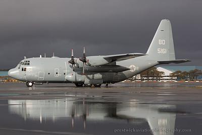 165161. Lockheed Martin C-130T Hercules. US Navy. Prestwick. 191014.jpg