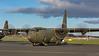 ZH886. Lockheed Martin C-130J Hercules C5. RAF. Prestwick 140414.