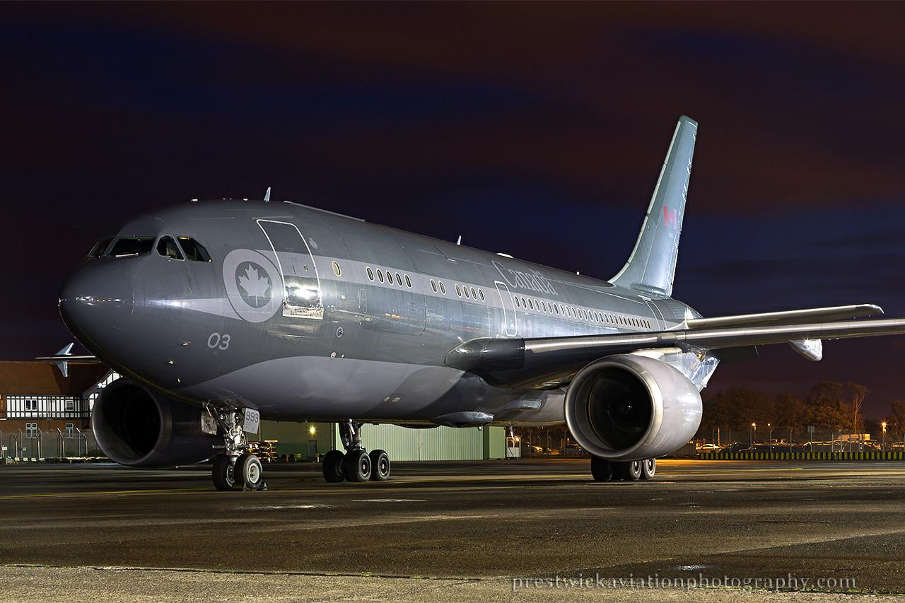 15003. Airbus CC-150 Polaris. Canadian Air Force. Prestwick. 241014.