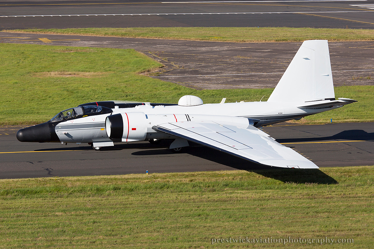N926NA. Martin/General Dynamics WB-57F. NASA. Prestwick. 100714.