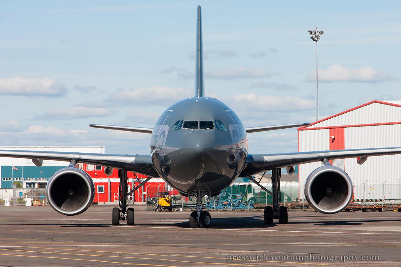 15002. Airbus CC-150 Polaris. Canadian Air Force. Prestwick. 210714.