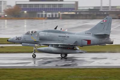 C-FGZD. McDonnell Douglas A-4N Skyhawk. Discovery Air . Prestwick. 081114.