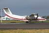 N705GG. De Havilland Canada EO-5B Dash 7. US Army. Prestwick. 230217.