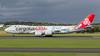 LX-VCM. Boeing 747-8R7F/SCD. Cargolux. Prestwick. 180817.