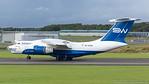 4K-AZ100. Ilyushin Il-76TD-90SW. Silk Way Airlines. Prestwick. 180817.