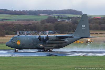 130333. Lockheed KCC-130H Hercules. Canadian Air Force. Prestwick. 041117.