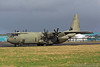 ZH865. Lockheed Martin C-130J Hercules C4. RAF. Prestwick. 220217.