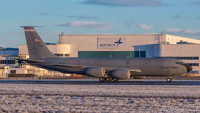 63-7984. Boeing KC-135R Stratotanker. USAF. Prestwick. 271217.
