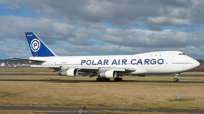 N858FT. Boeing 747-123(SF). Polar Air Cargo. Prestwick. 120305.