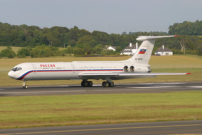RA-86559. Ilyushin Il-62M. Russian State Transport Company. Prestwick. 080705.