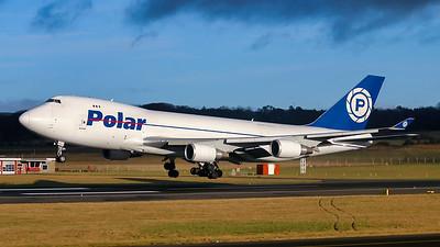 N453PA. Boeing 747-46NF SCD. Polar Air Cargo. Prestwick.  290105.