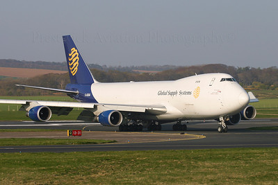G-GSSA. Boeing 747-47UF/SCD. Global Supply Systems Prestwick. 240405.