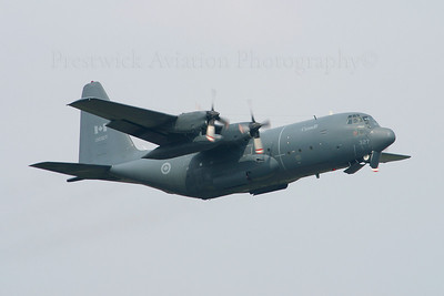 130327. Lockheed CC-130E Hercules. Canadian Armed Forces. Prestwick. 220405.
