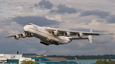 UR-82060.Antonov An-225 Mriya. Antonov Design Bureau. Prestwick. 040707.