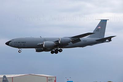 58-0069. Boeing KC-135T Stratotanker. USAF. Prestwick. 140509.