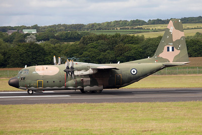 749. Lockheed C-130H Hercules. Greek Air Force. Prestwick. 180709.