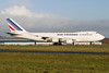 F-GIUE. Boeing 747-428F ER SCD. Air France Cargo. Prestwick. 061209.