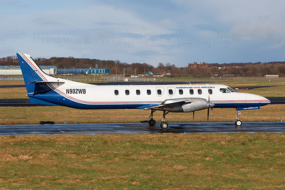 N902WB. Fairchild Dornier SA-227DC Metro 23. European 2000 Airlines. Prestwick. 010309.  On delivery to Bearskin Airlines of Canada.