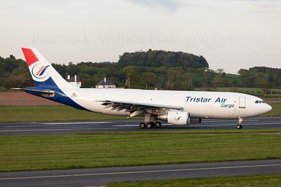 SU-BMZ. Airbus A300B4-203(F). Tristar Air Cargo. Prestwick. 140509.