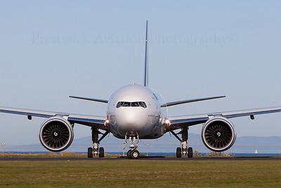 F-GUOC. Boeing 777-F28. Air France Cargo. Prestwick. 120509.