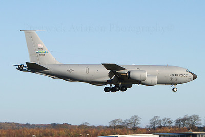 58-0058. Boeing KC-135R Stratotanker. USAF. Prestwick. 071111.
