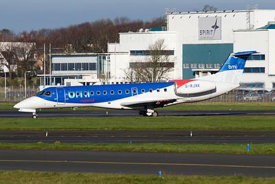 G-RJXK. Embraer EMB-135LR. BMI Regional. Prestwick. 081111.
