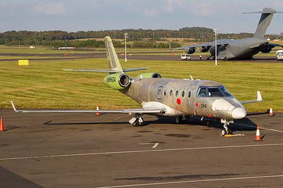 N996GA. Gulfstream Aerospace G150. Private. Prestwick. 300711.
