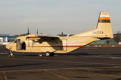 N422CA. CASA C-212-200 Aviocar. Bering Air. Prestwick. 131111.