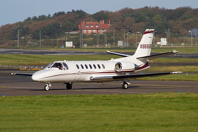 N969GB. Cessna 560 Citation V.  Private. Prestwick. 260911.