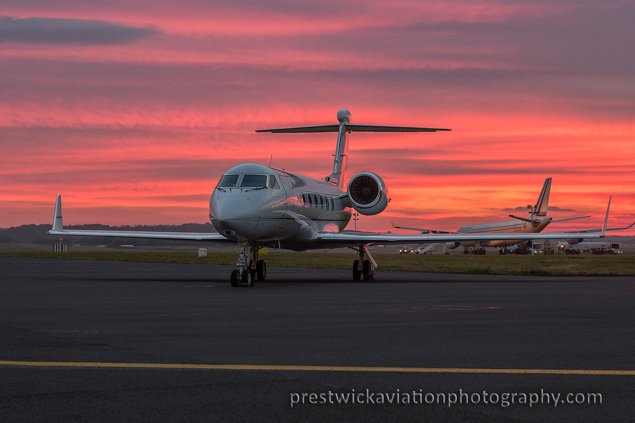 N. Gulfstream Aerospace Gulfstream IV-SP. Private. Prestwick. 271015.