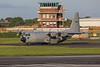 CH-08. Lockheed C-130H Hercules. Belgium Air Force. Prestwick. 180815.