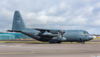 130341. Lockheed KCC-130H Hercules. Canadian Air Force. Prestwick. 110415.
