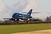 G-FRAP. Dassault Falcon 20DC. Cobham. Prestwick. 081015.