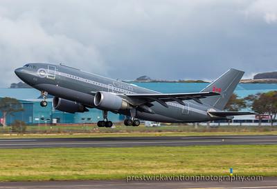 15003. Airbus CC-150 Polaris. Canadian Air Force. Prestwick. 091015.