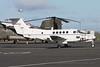 84-0153. Beech C-12U Huron. USAF. Prestwick. 070815.