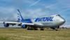 N919CA. Boeing 747-428M(BCF). National Cargo. Prestwick. 250415.
