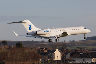 2-JFJC. Bombardier Global Express-BD-700-1A10.  Private. Prestwick. 291216.