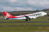 LX-YCV. Boeing-747-4R7F/SCD. Cargolux Italia. Prestwick. 231016.
