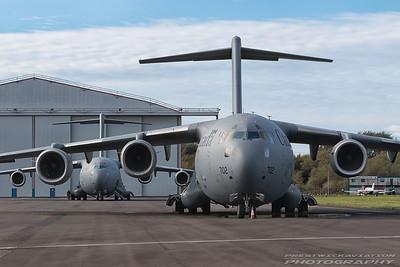 177702. Boeing CC-177 Globemaster III. Canadian Air Force. Prestwick. 201016.