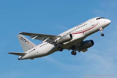 EI-FWB. Sukhoi Superjet 100-95B. Cityjet. Prestwick. 251016.