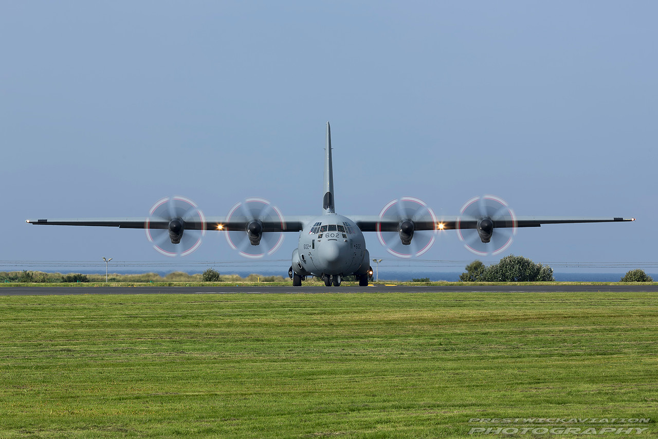 130602. Lockheed Martin CC-130J Hercules. Canadian Air Force. Prestwick. 180816.