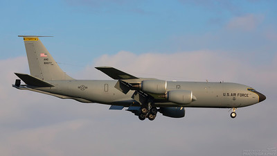 58-0077. Boeing KC-135R Stratotanker. USAF. Prestwick. 121218.