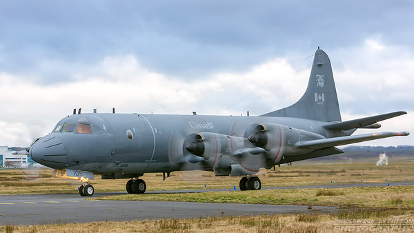 140105. Lockheed CP-140 Aurora. Canadian Air Force. Prestwick. 160318.
