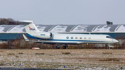 N95NA. Gulfstream Aerospace Gulfstream V. NASA. Prestwick. 280218.