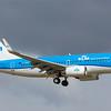 PH-BGI. Boeing 737-7K2. KLM. Prestwick. 170318.