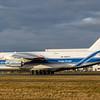 RA-82077. Antonov An-124-100 Ruslan. Volga Dnepr Airlines. Prestwick. 140318.